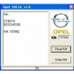 OPEL EDC16 KM TOOL