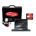 Pachet profesional Tester Delfi DS150E + Laptop Refurbished i5 Lenovo x240 + Catalog reparatii in limba romana