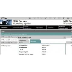 BMW INPA - Interfata diagnoza