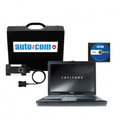 Pachet profesional Tester AutoCom CDP + Laptop Refurbished i3, 4 GB RAM, HDD 320 GB + Soft catalog reparatii